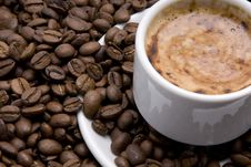 Free Cup Of Espresso Stock Image - 4398851