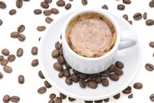 Free Cup Of Espresso Stock Image - 4398871