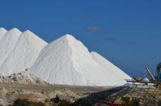 Free Salt Mountain - Mining Industry Food Stock Photo - 43927940