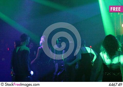 Dancing people Stock Photo
