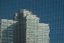 Building Reflection Stock Images