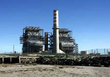 Free Power Plant At The Beach Stock Photo - 442950