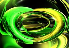 Free Green&Yellow Wires 02 Stock Photography - 443292