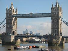 Free Tower Bridge Stock Photography - 443642