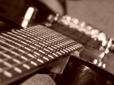 Free Electric Guitar BC Rich Stock Photography - 445932