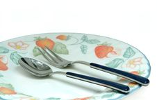 Free Place Setting Cutlery Royalty Free Stock Photos - 446318