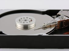 Free Hard Drive Internals Stock Photo - 446650