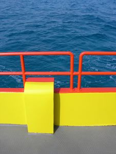 Free Color Board On Sea Stock Image - 447551