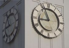 Clocktower Face Royalty Free Stock Images