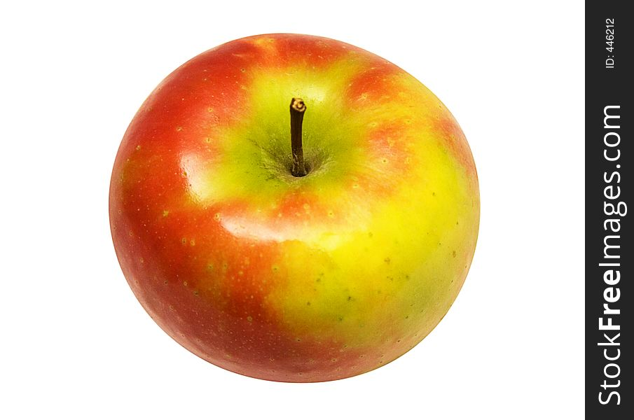 Red Yellow Apple w/ Path