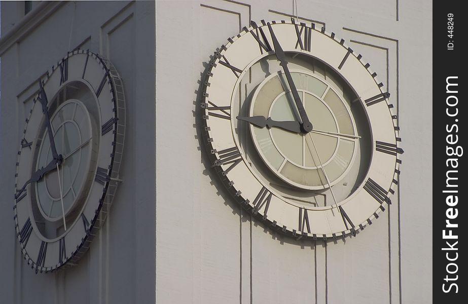 Clocktower Face