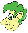Free Cute Man With Green Hair Illustration Vector Stock Photo - 4402620