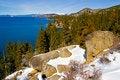 Free Lake In Winter Stock Image - 4403621