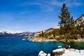 Free Lake In Winter Stock Image - 4403841