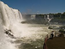 Free Iguacu Falls, Brazil. Royalty Free Stock Photography - 4400497
