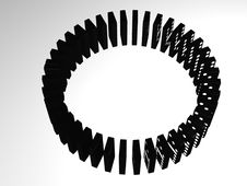 Free Domino Wheel Royalty Free Stock Image - 4400846