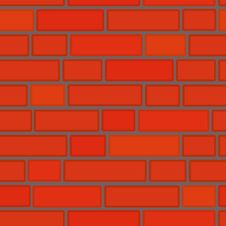 Free Seamlessly Vector Bricken Wall Stock Photography - 4401102