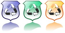 Set Of High Quality Recycling Icons Vectors Stock Images