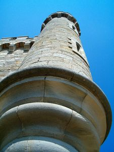Free Detail Of Magdala Tower - Rennes Le Chateau Stock Photos - 4402003
