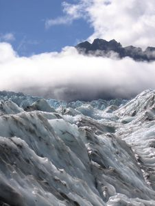 Free Ice And Sun At Fox Glacier Stock Image - 4402221