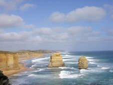 Free Two Of The Twelve Apostles Royalty Free Stock Photo - 4402265
