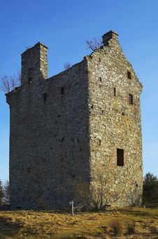 Free Loch Lee Castle Royalty Free Stock Image - 4402376