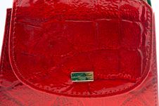 Free Red Leather Wallet Royalty Free Stock Photos - 4402728