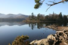 Free Derwent Water, Cumbria. Stock Image - 4403201