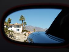 Free Rear View Mirror Stock Photography - 4404382