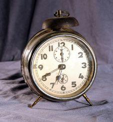 Free Old Alarm Clock Royalty Free Stock Photos - 4404398