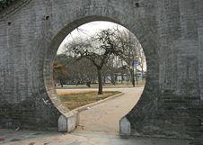 Free The Historical Cong-Tai  Park In Handan Royalty Free Stock Photos - 4404528