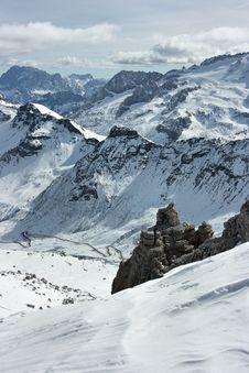 Free Dolomites Range Royalty Free Stock Images - 4404619