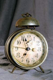 Free Old Alarm Clock Stock Image - 4404621