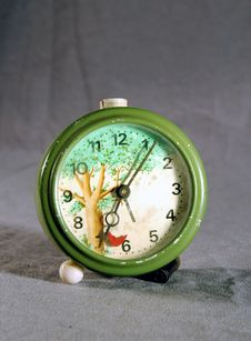 Free Old Alarm Clock Royalty Free Stock Photography - 4404857