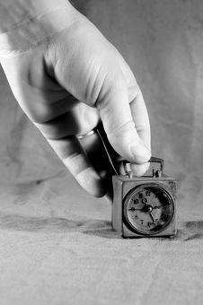 Free Old Alarm Clock Stock Photography - 4405092