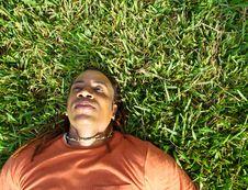 Free Lying On Grass Stock Photos - 4405323