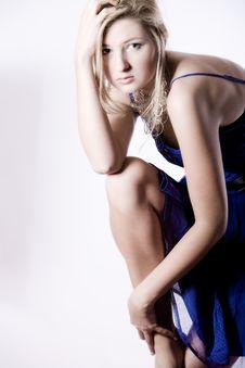 Awe Fashion Girl Stock Photos