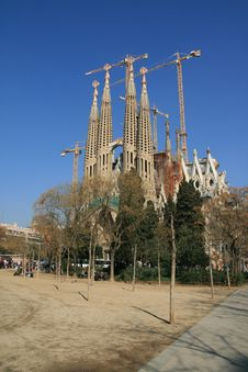 Free Sagrada Familia, Barcelona Stock Photography - 4406082