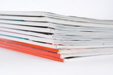 Free Pile Of Magazines Royalty Free Stock Photos - 4406988