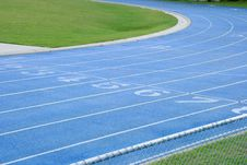Free Abstract Athletic Track Royalty Free Stock Photos - 4407108