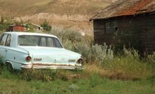 Abandoned Beater Royalty Free Stock Images