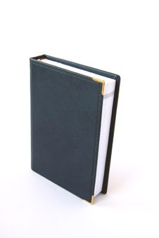 Free Blue Notebook. Royalty Free Stock Image - 4407216