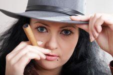 Free Felt Hat Royalty Free Stock Images - 4407319