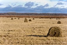 Free Country With Hayricks Stock Images - 4407544