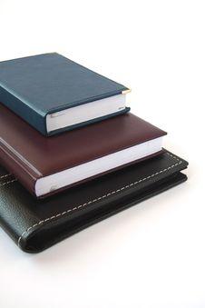 Notebooks. Royalty Free Stock Photo