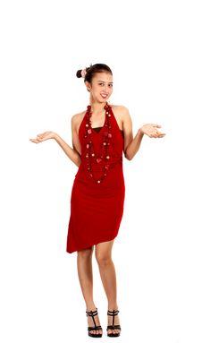 Free Slim Lady Posing On Camera Stock Photos - 4407603