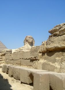 Free Sphinx Detail Stock Photo - 4407660