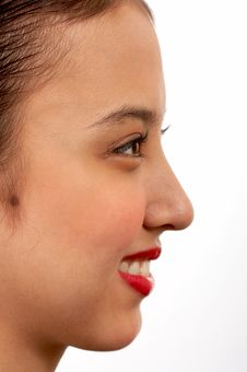 Free Side View Of A Girl Royalty Free Stock Photo - 4407715