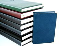 Free Notebooks. Royalty Free Stock Photography - 4407747
