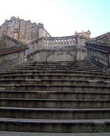 Free Stone Stairs Royalty Free Stock Photo - 4407915